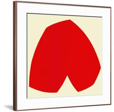 Red White, c.1962-Ellsworth Kelly-Framed Serigraph