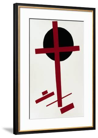 Suprematismus, c.1927-Kasimir Malevich-Framed Serigraph