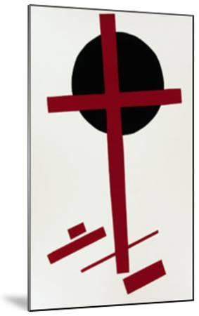 Suprematismus, c.1927-Kasimir Malevich-Mounted Serigraph