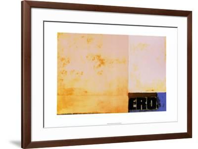 Eros, c.1989-J?rgen Wegner-Framed Serigraph