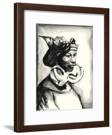 Morowa, Queen-Daphane Johnson-Framed Giclee Print
