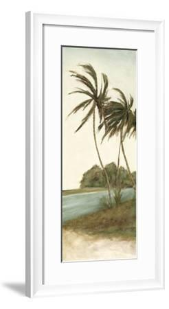 Trish's Palms II-Chariklia Zarris-Framed Limited Edition