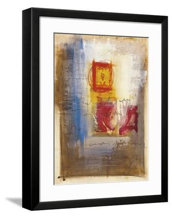 Leaning-Gemma Leys-Framed Art Print
