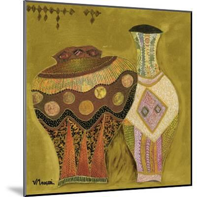 Moroccan Ceramics IV-Val?rie Maugeri-Mounted Art Print
