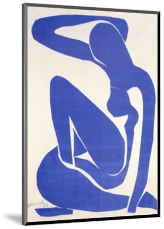 Blue Nude I, c.1952-Henri Matisse-Mounted Art Print