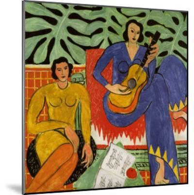 Music, c.1939-Henri Matisse-Mounted Art Print