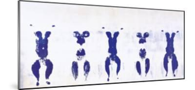 Untitled, Anthropometry, c.1960 (ANT100)-Yves Klein-Mounted Art Print