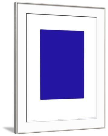 Untitled, Blue Monochrome, c.1961 (IKB73)-Yves Klein-Framed Serigraph