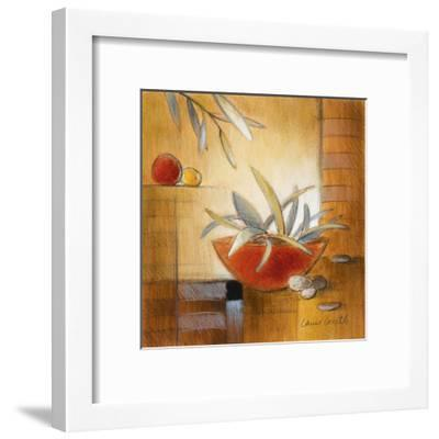 Afternoon Bamboo Leaves IV-Lanie Loreth-Framed Art Print