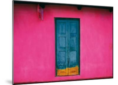 Fachada Rosa, Teopisca, Mexico-Jeffrey Becom-Mounted Art Print