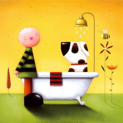 Bathtime-Jo Parry-Art Print