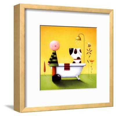 Bathtime-Jo Parry-Framed Art Print