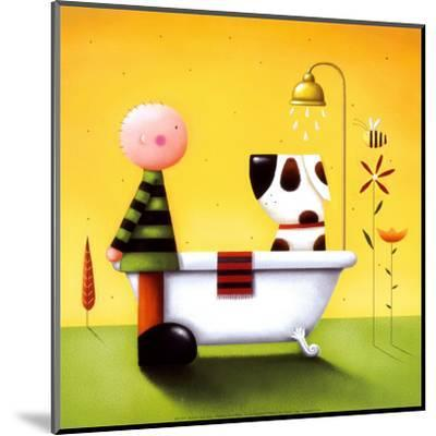 Bathtime-Jo Parry-Mounted Art Print