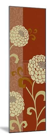 Chrysanthemums V-Max Carter-Mounted Art Print