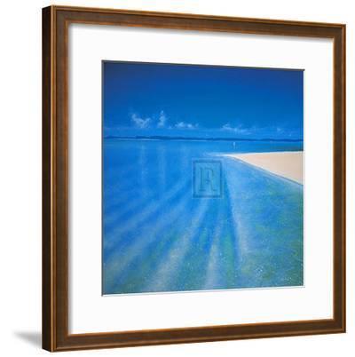 Sandy Bay II-Richard Pearce-Framed Art Print