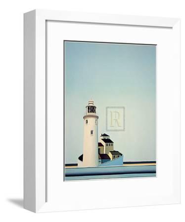 Calm Day-Barbara James-Framed Art Print