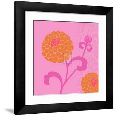 Chrysanthemums I-Max Carter-Framed Art Print