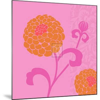 Chrysanthemums I-Max Carter-Mounted Art Print
