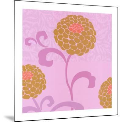 Chrysanthemums II-Max Carter-Mounted Art Print