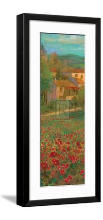 Provencal Village VI-Michael Longo-Framed Art Print