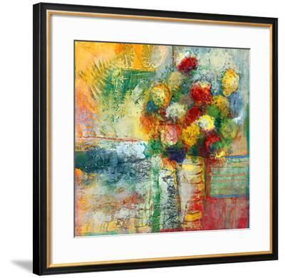 Blooms II-Josiane York-Framed Art Print
