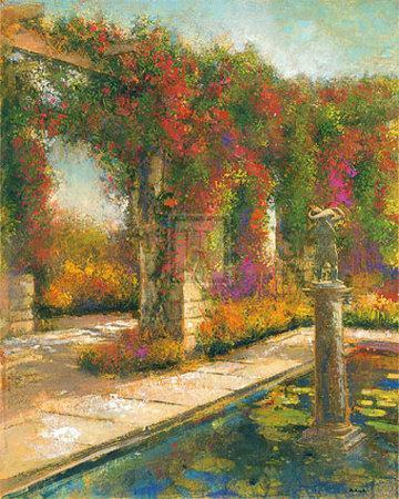 English Garden I-James McIntosh Patrick-Framed Art Print