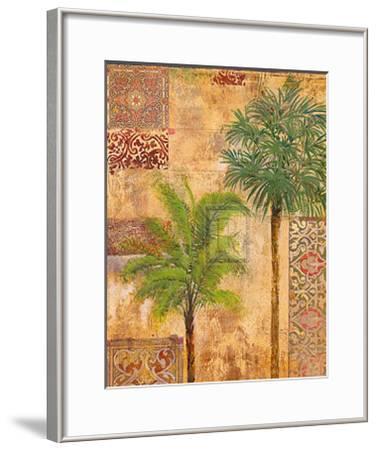 Palm Trees II-James McIntosh Patrick-Framed Art Print
