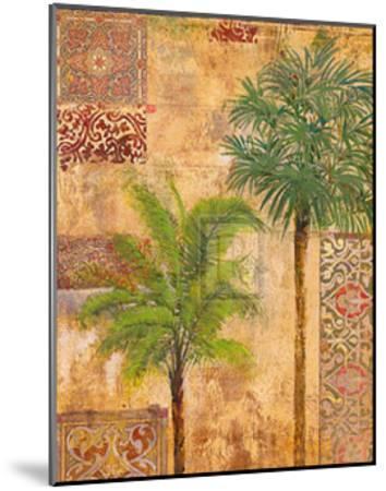 Palm Trees II-James McIntosh Patrick-Mounted Art Print