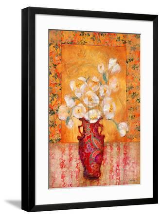 Silk Petals-Augustine (Joseph Grassia)-Framed Art Print
