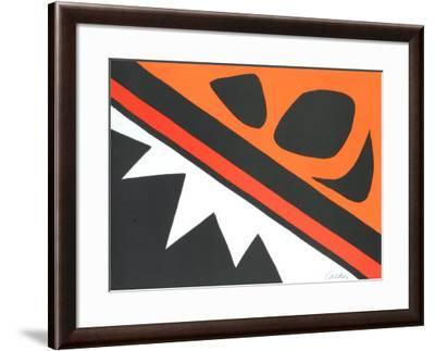 La Grenouille et Cie-Alexander Calder-Framed Art Print