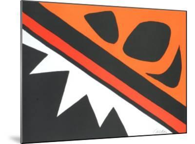 La Grenouille et Cie-Alexander Calder-Mounted Art Print