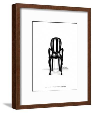 Designer Chair I-Megan Meagher-Framed Art Print