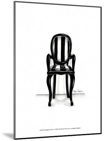 Designer Chair I-Megan Meagher-Mounted Art Print