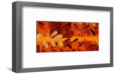 Sun Kissed Silhouette V--Framed Art Print