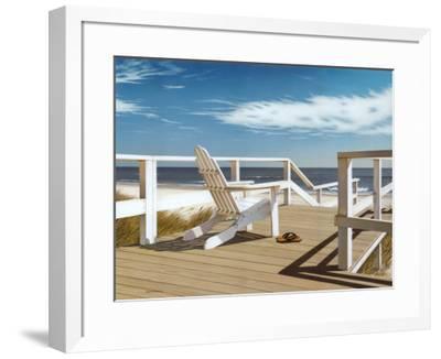 Sun Deck-Daniel Pollera-Framed Art Print