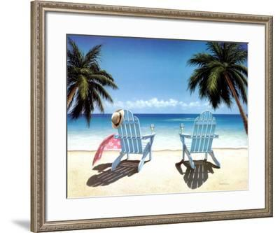 Cocktails for Two-Daniel Pollera-Framed Art Print