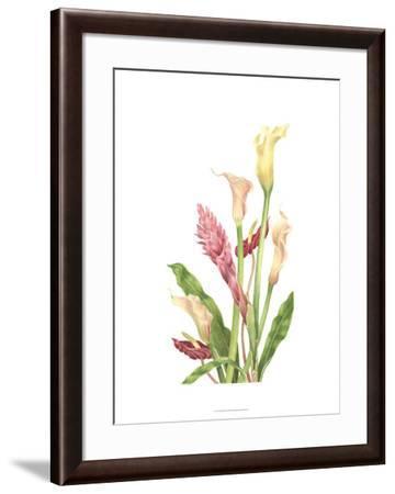 Tropical Bouquet II-Pamela Shirley-Framed Limited Edition