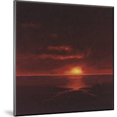 Tropical Sunset I-Spencer Lee-Mounted Art Print