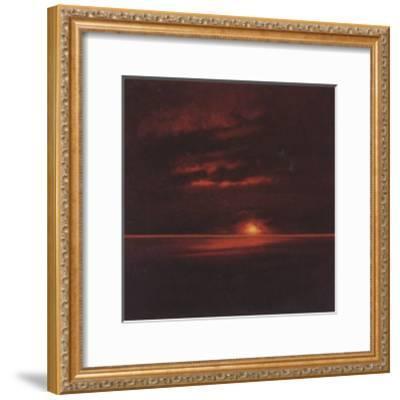 Tropical Sunset II-Spencer Lee-Framed Art Print