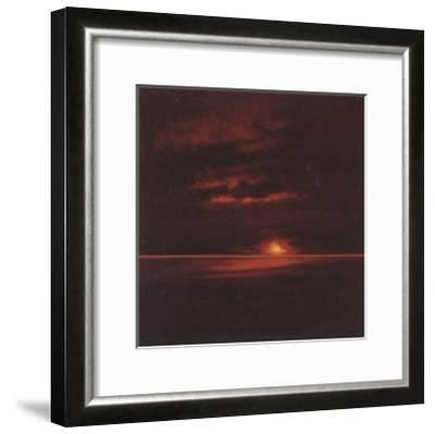 Tropical Sunset II-Spencer Lee-Framed Art Print