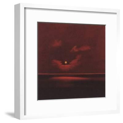 Tropical Sunset III-Spencer Lee-Framed Art Print