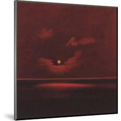 Tropical Sunset III-Spencer Lee-Mounted Art Print