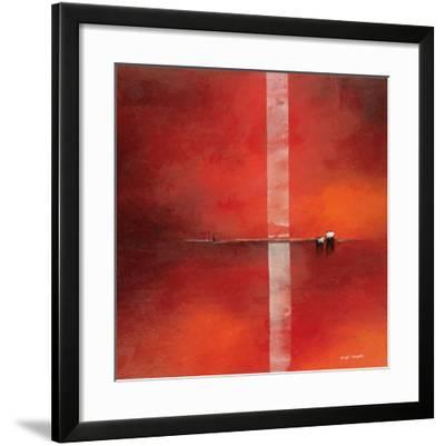 Deep Red I-Andre Schrooten-Framed Art Print