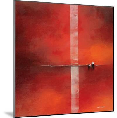 Deep Red I-Andre Schrooten-Mounted Art Print