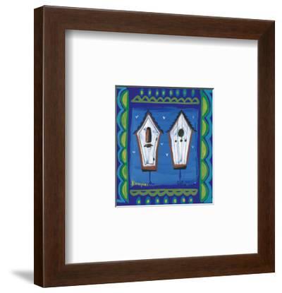 Birdhut II-Olivier Klompkes-Framed Art Print