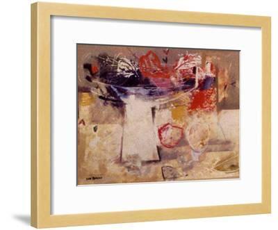 Sobre la Mesa I-Justo San Felices-Framed Art Print