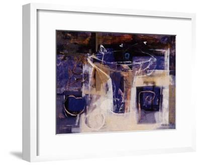 Sobre la Mesa II-Justo San Felices-Framed Art Print