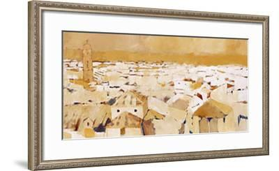 Peaceful Village II-Jesus Barranco-Framed Art Print
