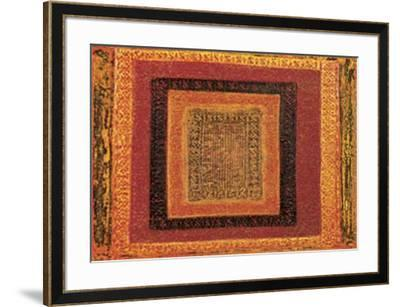 Kilim III-Fran?ois Casanova-Framed Art Print