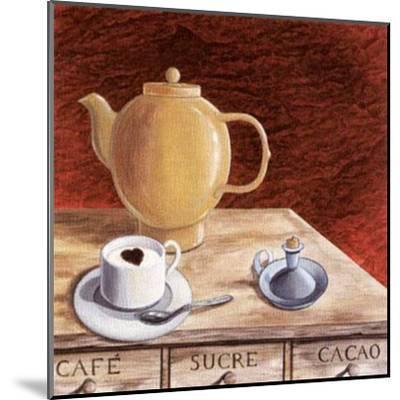 Lover Cappuccino-J^l^ Vittel-Mounted Art Print